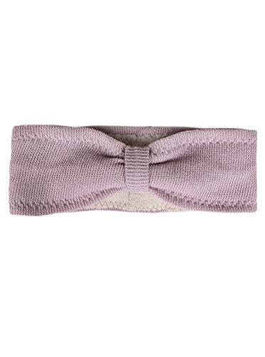 Zwillingsherz Stirnband mit Kaschmir - Hochwertiges Strick-Kopfband für Damen Frauen Mädchen - Uni - Mit Fleece - Wolle - Ohrenschutz - Haarband - warm - weich für Winter und Frühjahr alt