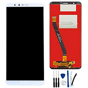 LCD Display Digitizer Touch Screen Replacement for Huawei Mate SE BND-L24 BND-L34 5.93  /Honor 7X Assembly  with Honor Logo  White