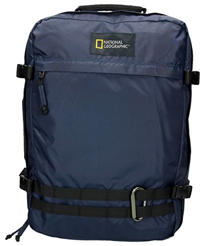 National Geographic Hybrid Rucksack, 50 cm, 30L, Navy Blue
