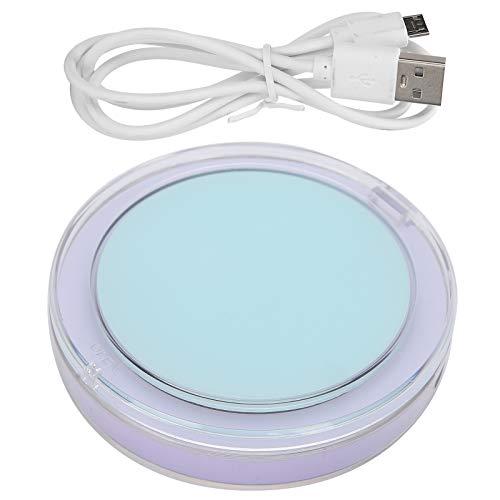 Alinory LED-Schminkspiegel Kompakter und tragbarer Kosmetikspiegel Praktisch Praktisch Weich Natürliches Licht Leicht für Partys