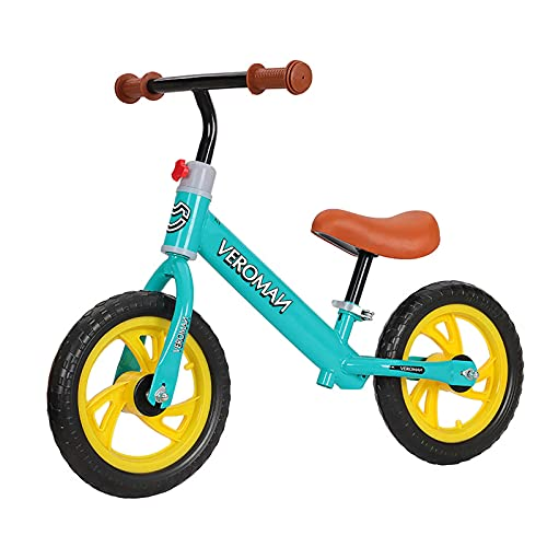 VeroMan ペダルなし自転車 ランバイク キックバイク バランストレーニングバイク 子供用自転車 乗用玩具 子供用 キッズ用 (グリーン)