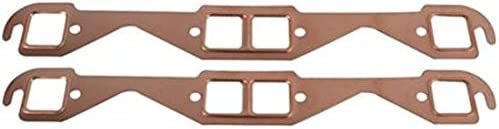 Speedway High material Motors Small Block Fits Chevy Exhaust Selling rankings Gaskets Copper S