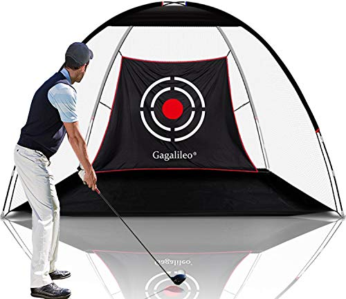Gagalileo Golf Net Golf Nets for Backyard Driving, Golf Practice Net, Golf Net for Indoor Use, Golf Hitting Nets 10X7X6ft, Home Driving Range with Target and Carry Bag