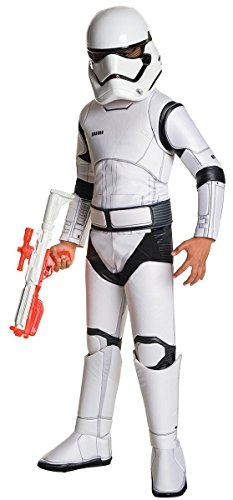 Close Up Star Wars Episodio VII 4Set di Super Deluxe Costume da Stormtrooper per Bambini