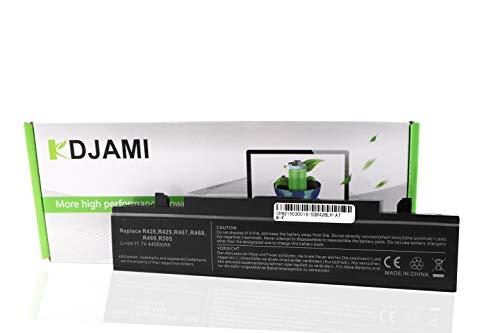 KDJAMI PB9NC6B PB9NS6W AA-PB9NS6W NP300E5A PB9MC6W PB9NC6W NP300V5A Batería para Samsung R540 R530 R580 R780 R480 R428 R470 R468 R519 R730 RV510 (6 Celdas, 11,1 V, 4400 mAh)