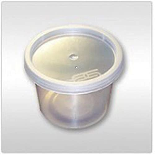 Lids 1000 x Heavy Duty Clear Plastic 2oz Tubs With Lids SATCO Containers Cups