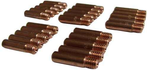 Metal Man M113525 Contact Tips 11-35, Copper, Pack of 25