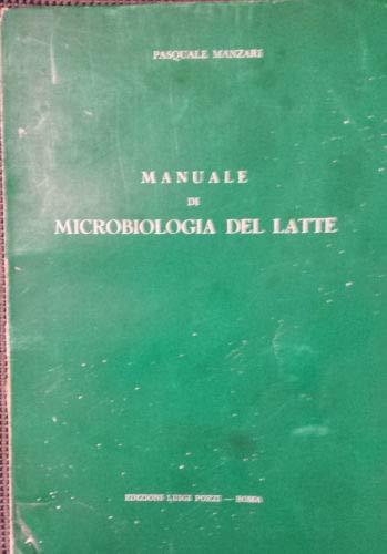 Manuale di microbiologia del latte