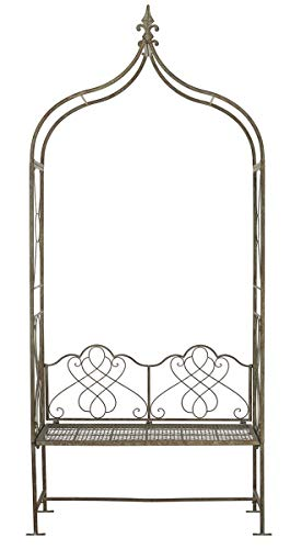 Safavieh Outdoor Collection Eloise Rustic Brown Arbor