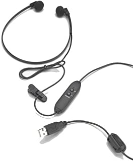 Spectra SP-USB USB Transcription Headset with Volume Control