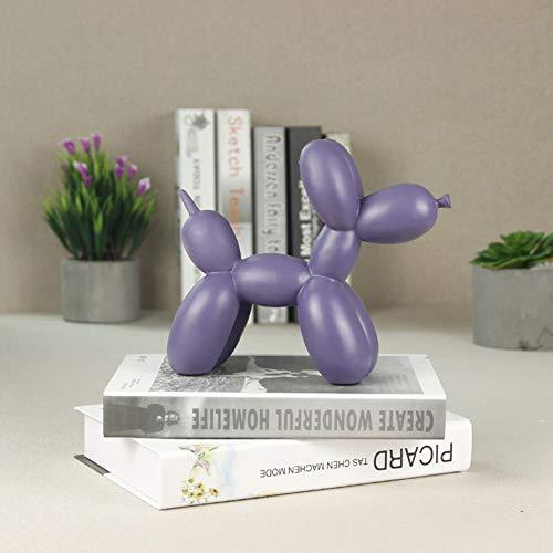 TGACD Sculptuur beeld Creatieve Hars Ballon Hond standbeeld Moderne Mode Eenvoudige Sculptuur Thuis Decoratie Accessorie Animal Figurine