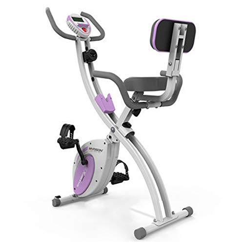 Cyclette Spinning Bike, Home Magnetic, Ultra-Quiet Indoor, Office Stepping Spinning, Multi-Funzionale (Color : Pink)