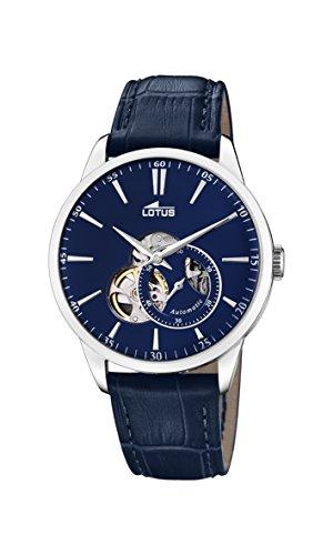 Lotus Watches Reloj Análogo clásico para Hombre de Automático con Correa en Cuero 18536/3