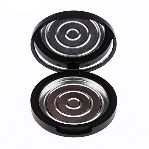Toygogo Pots Vides Rechargeables à Poudre Conteneur Cosmétiques Vide pour DIY Fard à Paupières Blush Baume à Lèvres avec Miroir - Hauteur 13mm