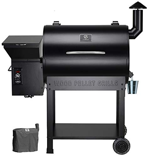 Z GRILLS ZPG-7002B Wood Pellet Grill Smoker for Outdoor Cooking with Cover, 2020 Upgrade, 8-in-1