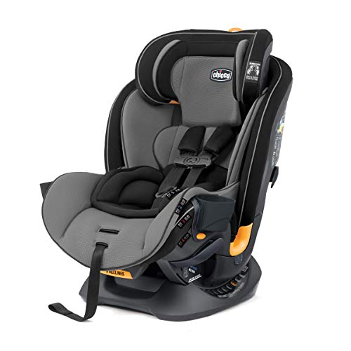 Chicco Fit4 4-in-1 Convertible Car Seat   Easiest All-in-One from Infant to Booster   10 Years of Use - Onyx