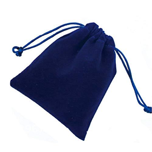 yyuezhi 20 Elegante Bolsa de Terciopelo Elegante Cordón de la Joyería de la Perla de Almacenamiento de la Boca Bolsa de Almacenamiento de Regalo de Boda Embalaje Terciopelo Haz Embalaje de la Joyería