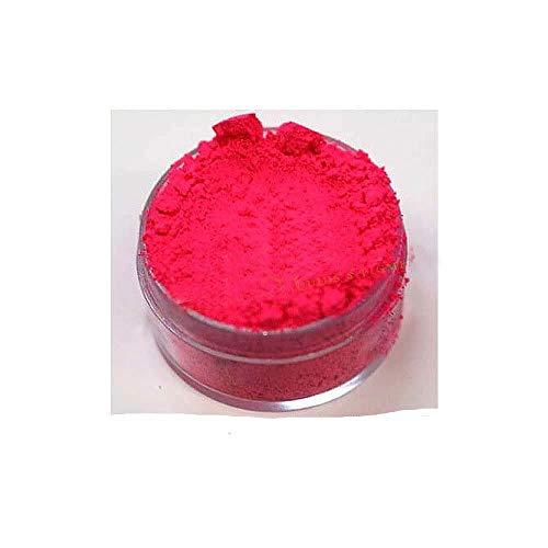 KandyDip Effektpigment NEON PINK Flourescent FLUORESZIEREND Farbpulver Pigment für Epoxidharz Autolack Sprühfolie Pigmente Aquarell Seife Powder (25 Gramm)