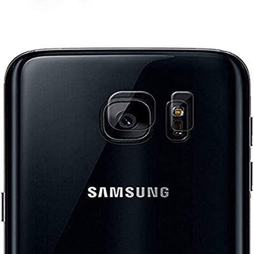 HongMan Cristal Templado para Lente Cámara de Samaung Galaxy S7 Edge, Ultra...