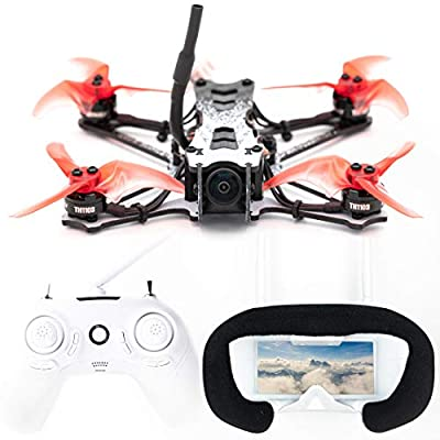 EMAX Tinyhawk 2 Freestyle 2.5 inch FPV Drone for Beginners Ready to Fly RTF Kit 200mw 2s Carbon Fiber Frame 7000KV
