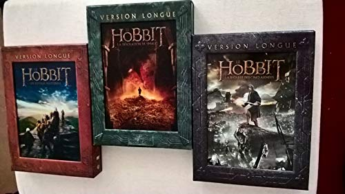 DVD Set * Der Hobbit Trilogie Teil 1+2+3 je Extended Edition * (Eine unerwartete Reise+Smaugs Einöde+Die Schlacht der fünf Heere)