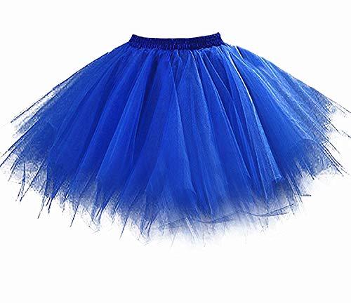 Tutu damesrok jaren 80 neon deuren dames rok tule rok petticoat pettishirt 50 vintage tutu korte balet rok dansjurk onderrok onderrok rok dames volwassenen 1980s disco fancy dress kostuum