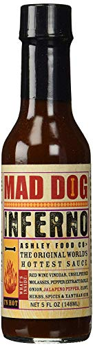 Ashleyfood - Mad Dog Inferno Chili Sauce - 148ml