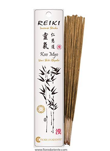 Fiore d' Oriente Koo Myo Reiki incenso, in bambù