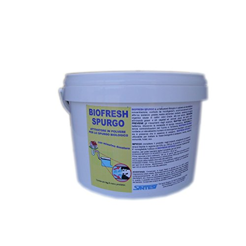 BIOFRESH SPURGO kg.3 attivatore per lo spurgo biologico
