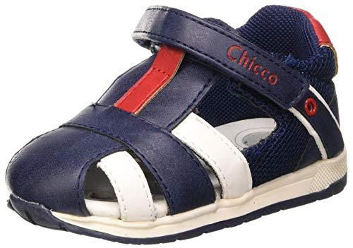 Chicco Sandalo Grobel, Sandalias para Niños, Azul (BLU 800), 21 EU