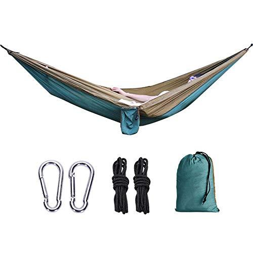 Yhsm Outdoor Supplies Nissi Hamac double en tissu de parachute 210t