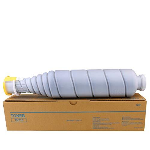 VNZQ Tonerkartusche TN710, kompatibel mit dem Digitalkopierer Konica Minolta bizhub 600 601 750 751. Kopierer Laserdrucker Verbrauchsmaterial