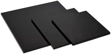 200x200 mm transparente Acrylglas- Plexiglas-Platte 2 mm stark glasklar bruchfest /& vielseitig anwendbar gepr/üfter UV-Schutz Acrylglas-Zuschnitt Quadratisch beidseitig foliert