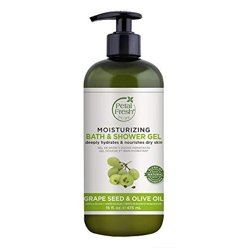 Petal Fresh Moisturizing Bath & Shower Gel Grape Seed & Olive Oil