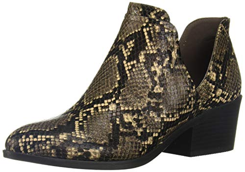 Fergalicious Women's Wilder Ankle Boot, Coffee, 7.5 M M US