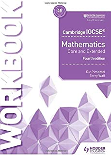 Cambridge IGCSE Mathematics Core and Extended Workbook