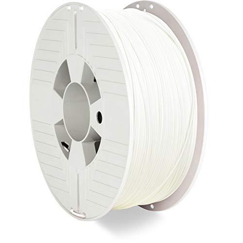 Verbatim 55027 ABS Filament, 1.75mm 1kg - White
