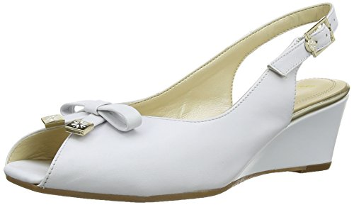 Van Dal Femme Meade Espadrilles, Blanc (Bright White), 42 EU