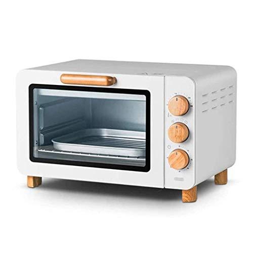 Wghz Kleiner Ofen 15L Home Automatisches Backen Multifunktions Mini Retro Kleiner elektrischer Ofen , Unabhängige Temperaturregelung der oberen und unteren Rohre , weiß