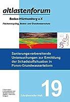 Sanierungsvorbereitende Untersuchungen zur Ermittlung der Schadstoffsituation in Poren-Grundwasserleitern