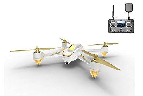 Hubsan x4 H501S Pro 5,8G FPV Quadrocopter 10 Plus Kanle Headless Modus GPS RTF Drohne mit 3M Pixel Kamera (Hohe Version) Wei