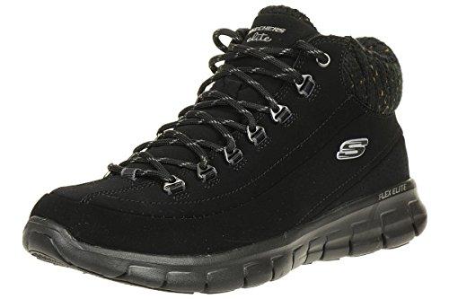 Skechers Women's Synergy-winter Nights Boots, Black (Black), 6 UK (39 EU)