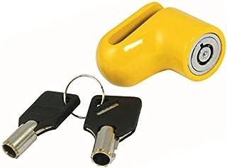 Hyfive Heavy Duty Motorrad Motorrad Motorrad Roller VORHÄNGESCHLOSS DISC Lock Tasten + Sicherheit