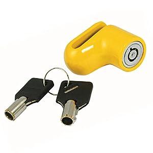 Hyfive Moto Moto Moto Scooter Disc Lock candado de Seguridad y Claves Heavy Duty