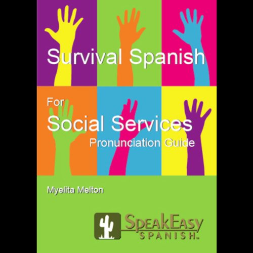 Survival Spanish for Social Services audiobook cover art