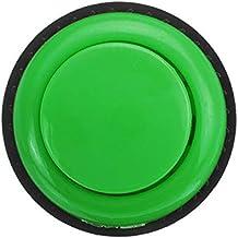 MYAMIA Botón Pulsador Corto Amarillo Rosa Verde De 28 Mm para Controlador De Consola De Juegos Arcade DIY-Verde