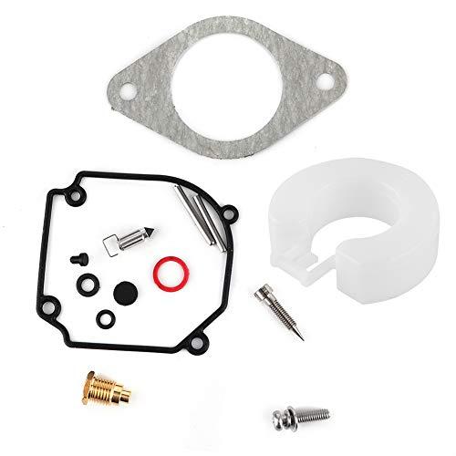 EBTOOLS Kit de reparación de carburador, kit de reconstrucción de reparación de carburador de suministro de combustible para motocicleta 346871220 Accesorio apto para C75/E75/C85 90HP modelo anterior