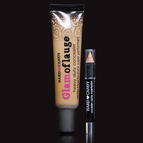 Hard Candy Glamoflauge HEAVY DUTY CONCEALER with pencil (TAN color 314)