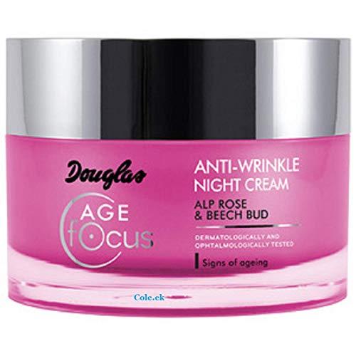 Douglas Hautpflege 945525 Gesichtspflege Nachtcreme Anti Wrinkle Night Cream 50 ml