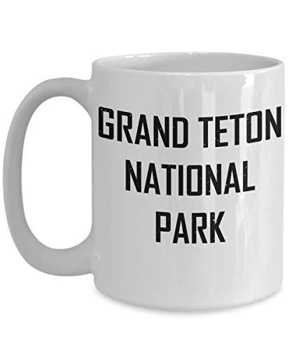 N\A Taza del Parque Nacional Grand Teton Camping Adventure Geek Gift Taza de café